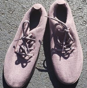 Mens lavender Allbirds shoes
